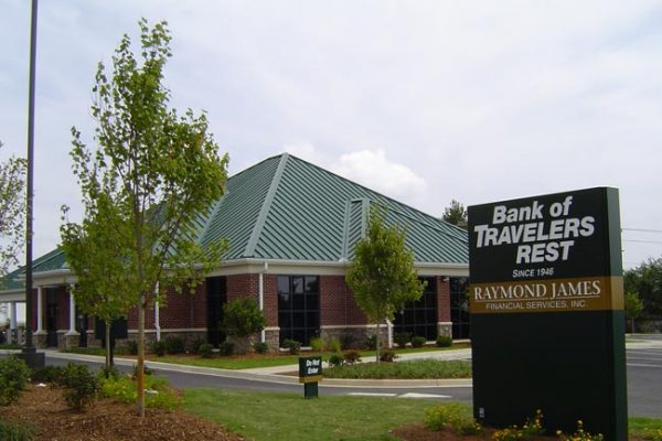 Bank of Travelers Rest – Pelham Road Branch